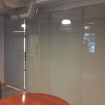 Interior View from Conference Room - 3% Roller Shade