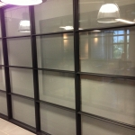 Outside view of Conference Room - 3% Roller Shades