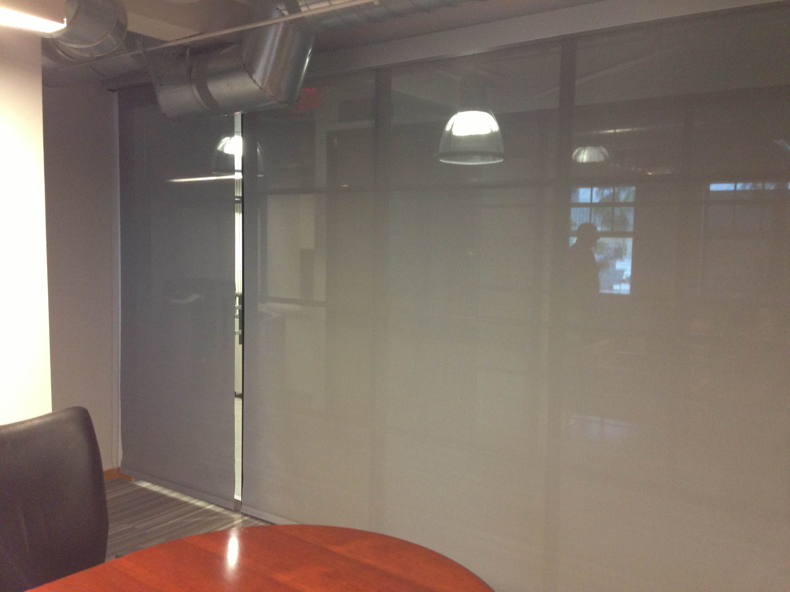 Roller Shade - Conference Room