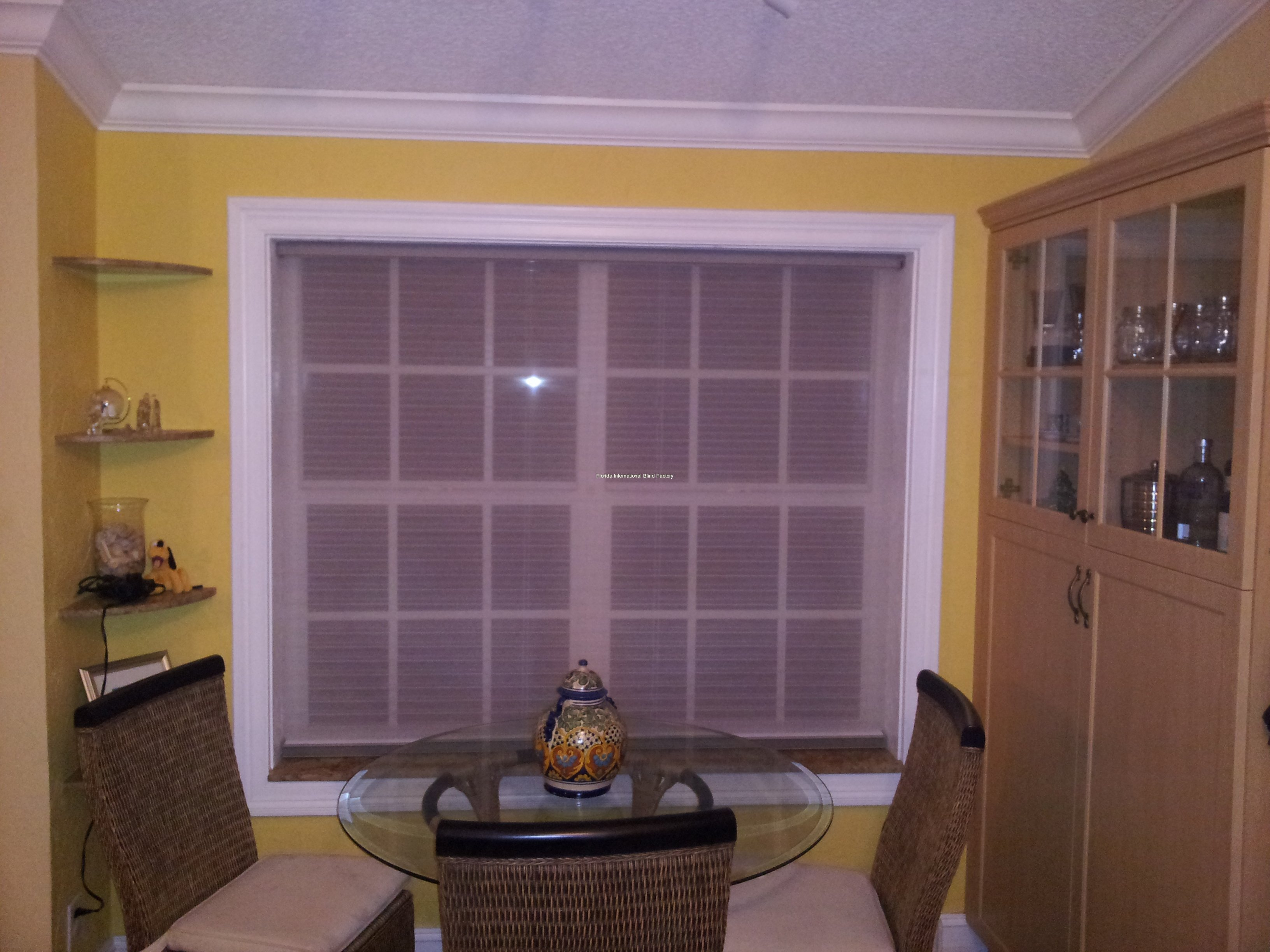 Hunter Douglas Motorized - Light Filtered Closed