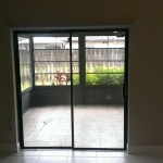 Sliding Glass Door Roller Shade