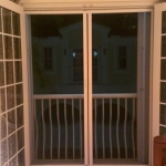 Bedroom Balcony French Doors - Center Open Retractable Screen
