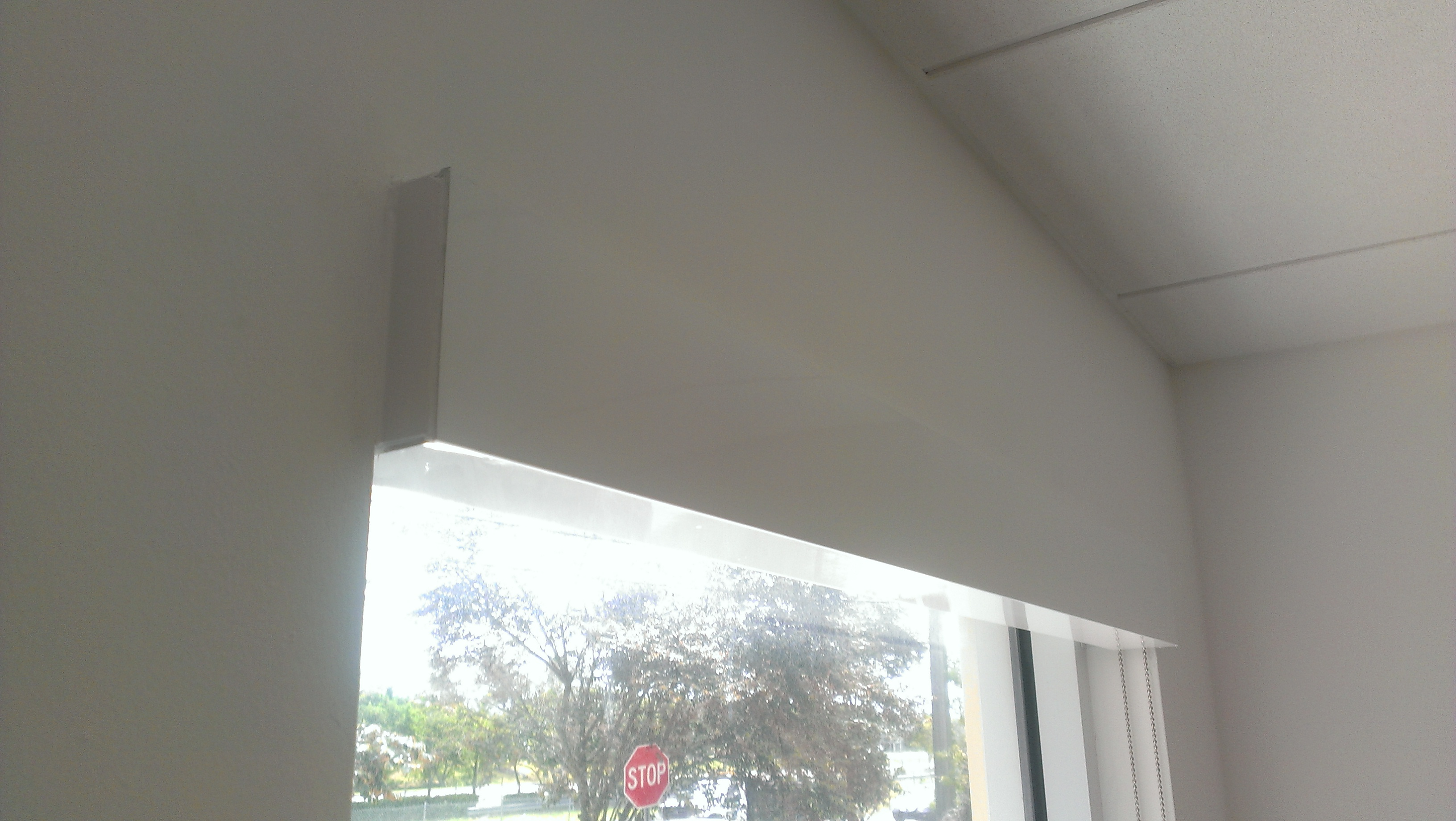 Roller Shades For An Office Or Storefront Manufacturers