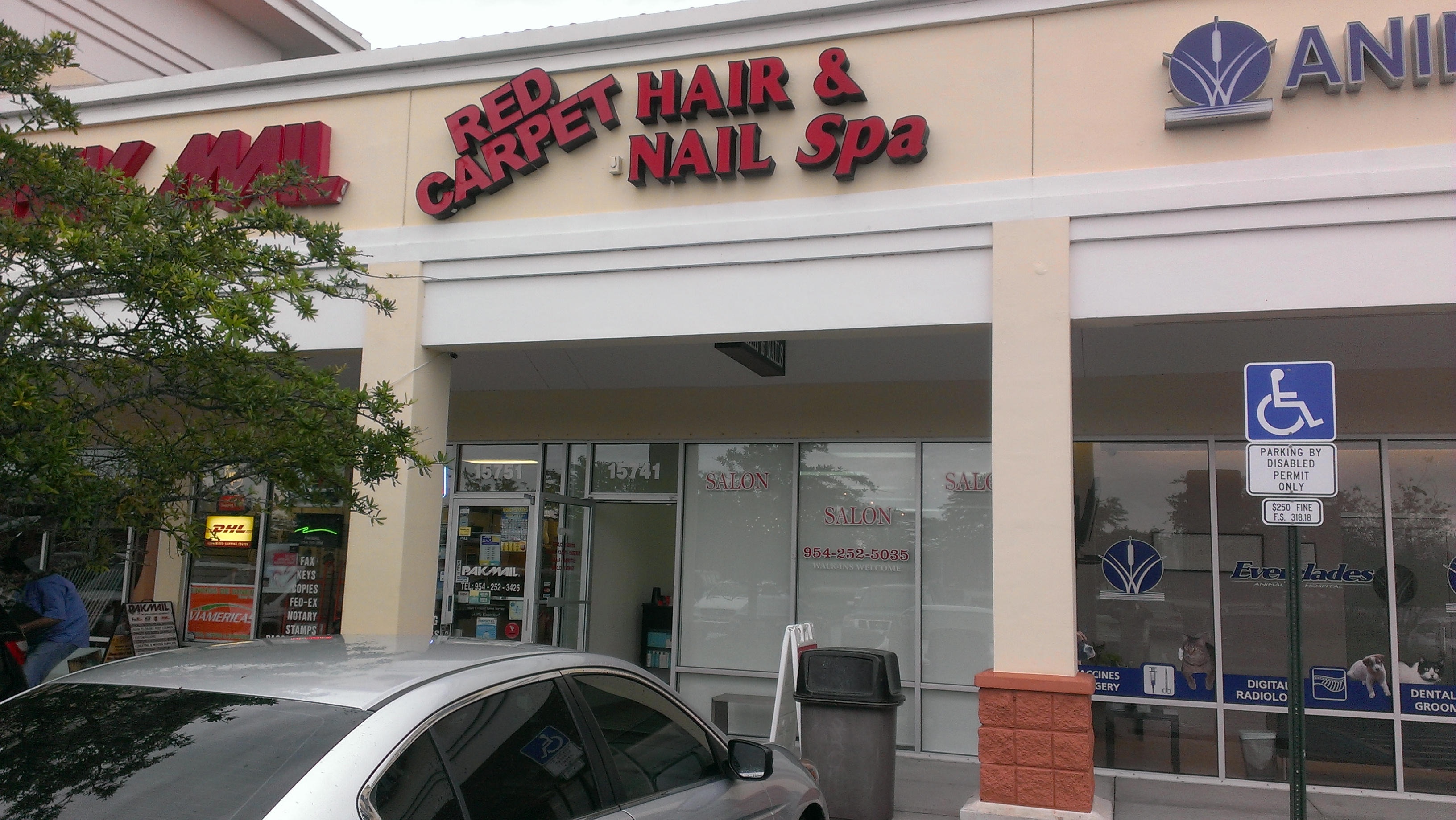 Red Carpet Hair and Nail Spa's New Roller Shades ...