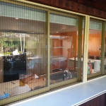 Retractable Screen Quad Door