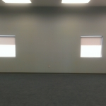 1% Soft Grey Roller Shades
