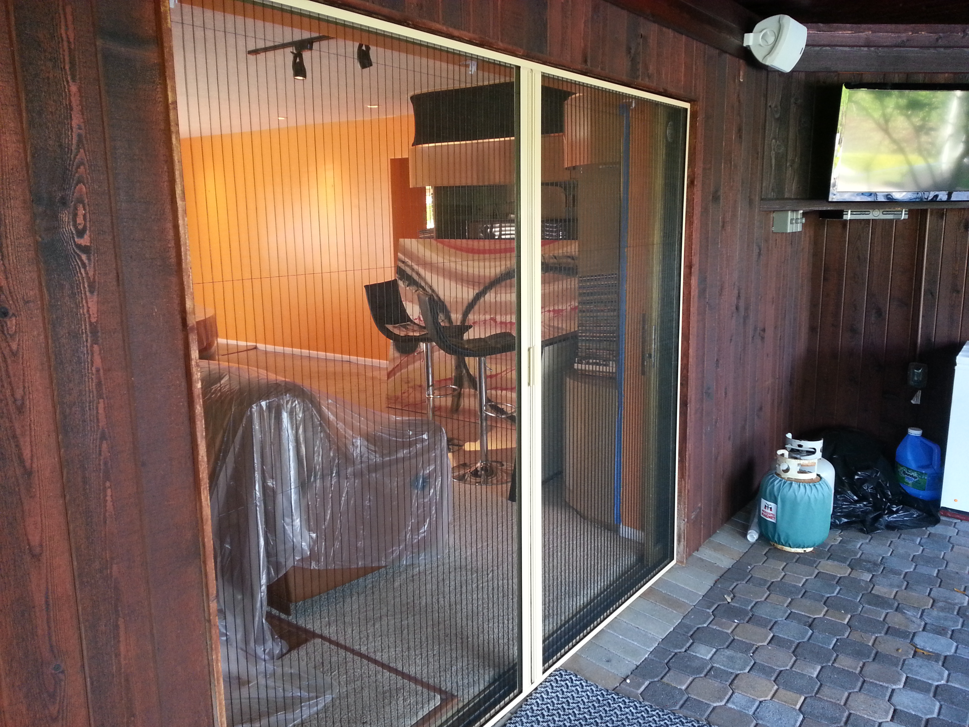 Retractable Screen Doors And Windows For Your Home Manufacturers Custom Window Treatments